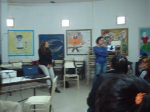 Antropólogas Cecilia Ayerdi y Nuri Quintero