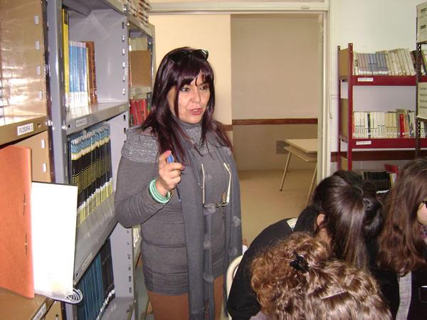 Miriam Narmona - Directora E.E.M. Nº 15